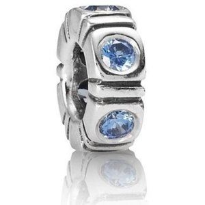RETIRED! Pandora Blue Trinity Spacer